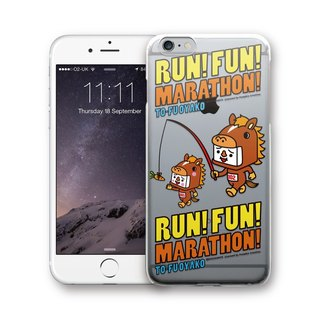 AppleWork iPhone 6 / 6S / 7/8 original design case - tofu marathon PSIP-289