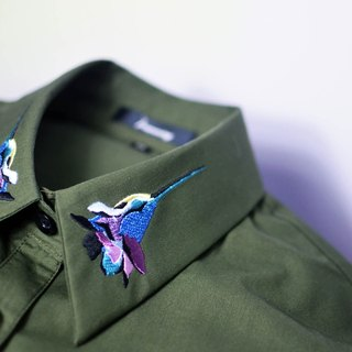 humming-繡花襯衫-Embroidered Shirts-HWS1305-02