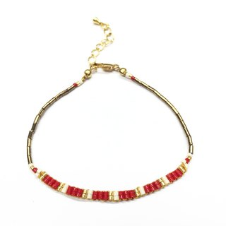 ololssim red gold bracelet nation (0906)