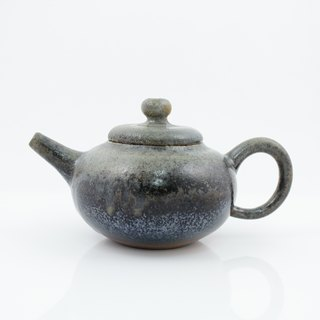 Firewood round belly teapot