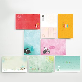 Postcards | small partners by Inkfool│I999AA006