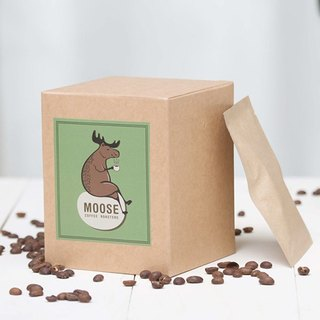 [MOOSE Coffee Roasters] <Nordic caramel recipe baking: Medium baking> Nordic roasted coffee lug bag, a box of ten into, two boxes of free transport