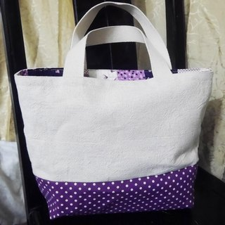 Point purple bag fashion simple style *