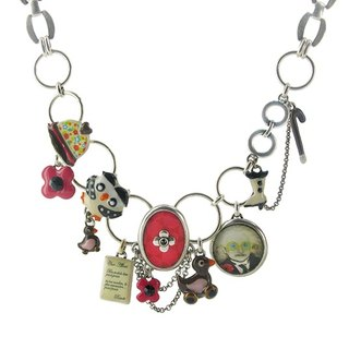 [French] Helen aunt series TARATATA aunt's life with cold enamel necklace