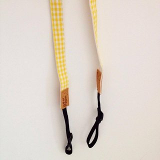 [Spot] Limited does not append a + La3nd HM - banana almond class single digit ribbon Strap - Camera String +