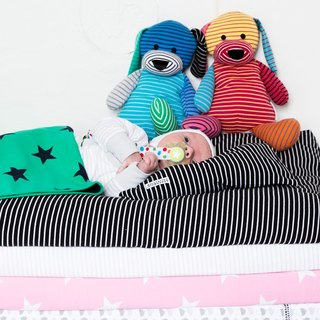 [Swedish system] organic cotton blanket stars green baby four seasons cotton blanket