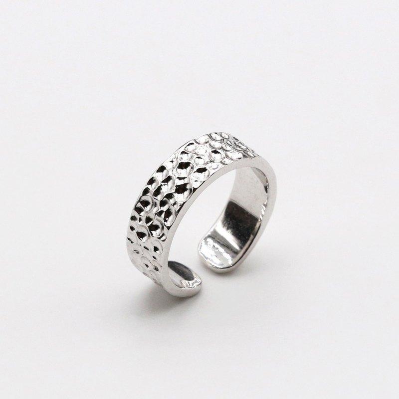 隕石No.2 戒指 純銀
