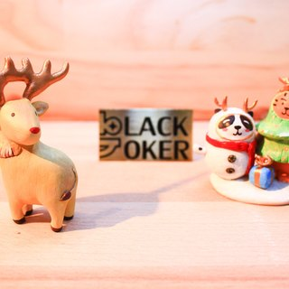 "Christmas Rose Gold Special Edition ""Black Joker"" Sen Ling Power Series - Christmas elk - Rose Gold"