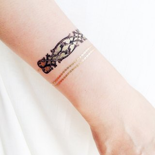 :: Tattoo / Tattoo Stickers :: Purcell Bracelet 2 In Original Hand-painted | PAPERSELF