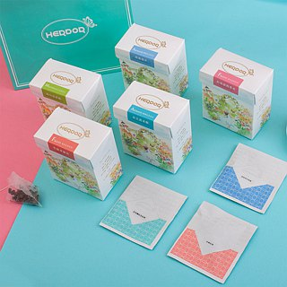 5 boxes of boxed tea/ triangle tea bags/ variety of tastes[HERDOR]