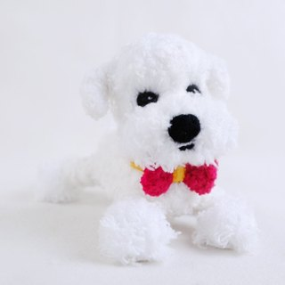 12cm pet cloned [feiwa Fei handmade doll] (shearing Version) Maltese pet doll (Welcome to order your dog)