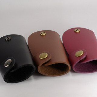 Key ring leather leather car key case version - Mark Honor