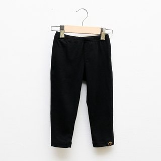 [My little star] is not just Leggings (black) of organic cotton