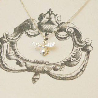 GT Bee Sterling Silver Necklace
