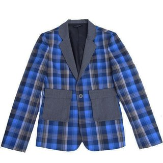 Stone'As College Plaid Blazer / Plaid Blazer