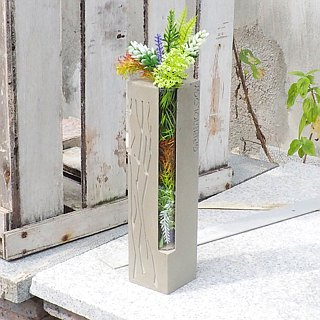 Greenology Cement Test Tube Flower (Large)