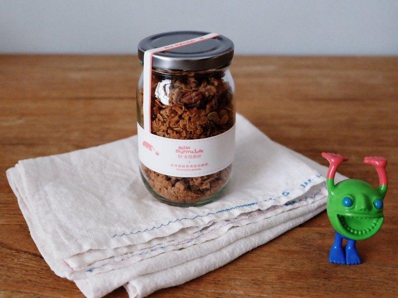 香烤楓糖漿燕麥胡桃碎 homemade granola