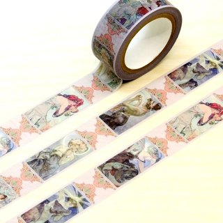 TAISO Art Master Mucha - Four Seasons Star Paper Tape