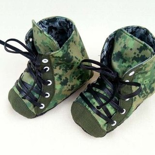 Va handmade shoes series Camouflage personality shoes (exclusive design models)