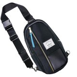 火柴木設計 Matchwood Hunter Shoulder Bag 全黑(Black Leather) 單肩後背包 側背包 斜背包 腳踏車包