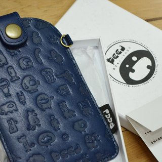【Peej】Phone Holder and strap / Blue