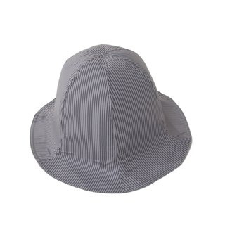 Sevenfold - Waterproof Striped Fisherman bucket Hat waterproof striped fisherman pots hat (gray)