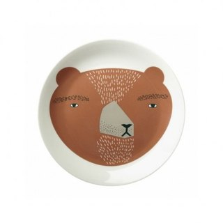 Bear bone china dinner plate | Donna Wilson