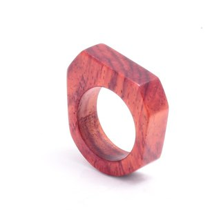 Rosewood Askew wood ring