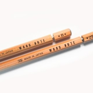 Japanese North Star Woodnote pencil out of print 0.5mm 2B models