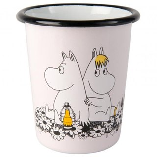 Finnish Moomin Moomin enamel cup 4dl (pink) Valentine's Day gift birthday gift exchange