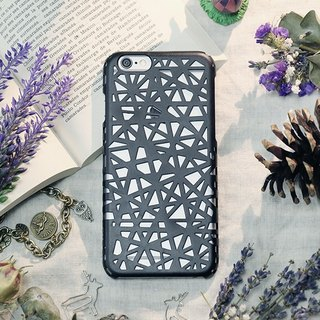 iPhone6 ​​/ Mobile Shell / Hard Shell / Swallowtail Black / Gift / Weave