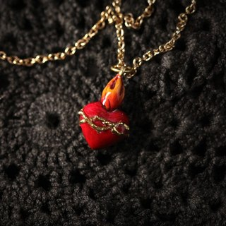 Secret Heart Necklace by Defy - Hand Painting Version Jewelry - Statement Charm Accessories