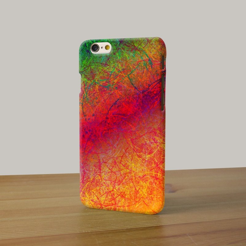 Water paint abstract color tropical red 12 3D Full Wrap Phone Case, available for  iPhone 7, iPhone 7 Plus, iPhone 6s, iPhone 6s Plus, iPhone 5/5s, iPhone 5c, iPhone 4/4s, Samsung Galaxy S7, S7 Edge, S6 Edge Plus, S6, S6 Edge, S5 S4 S3  Samsung Galaxy Note