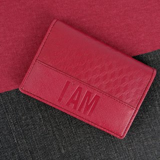 Free shipping I AM - XU WALLETS CREDIT business card holder five colors