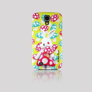 (Rabbit Mint) Mint Rabbit Phone Case - Bu Mali mushrooms series Merry Boo - Samsung S4 (M0007)