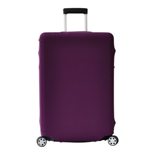 Travel elastic box sets | Solid paragraph purple [S, M, L, XL]