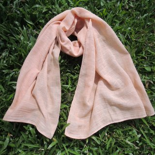 Mumu [vegetation] madder root dye cotton scarves dyed orange powder