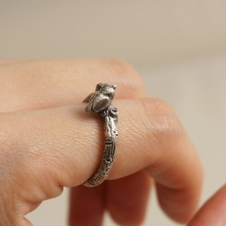 Fancy Moon * Magic Singer‧Baby Ring ‧925 sterling silver