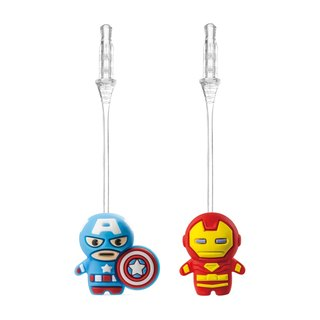 Bone / Marvel Charm Plug Bounce Plugs - Captain America / Iron Man