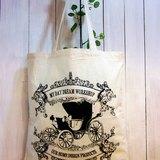 My Daydream Workshop複古tote bag水洗帆布單肩手提環保袋
