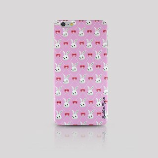 (Rabbit Mint) Mint Rabbit Phone Case - Bu Mali bow Merry Boo - iPhone 6 Plus (M0013)