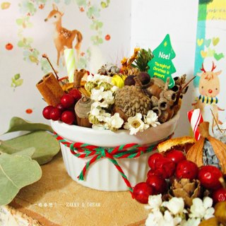 ❤ [Harvest Festival Fruit Bei Bei] ❤ dried fruit Echinacea flower birthday gift