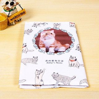 My pet clothes log cloth book notebook AT1-PTFL1
