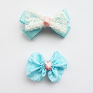 Spring light blue pink baby-purpose clip (s)