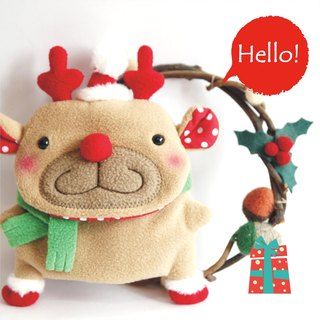 Balloon-Christmas limited edition key set (麋鹿桑)