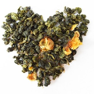 Organic tea flower green tea 75g