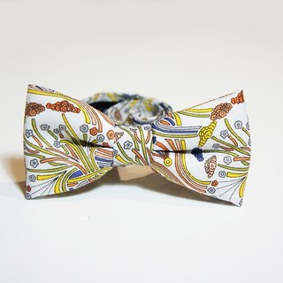 Stone as chic spring flowers tweeted tie bow Tie