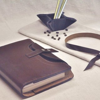 Cycle Life Series: Brown leather book leather case