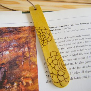Word ink pause Bookmarks - blossoming