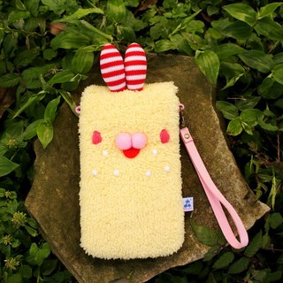 Love U rabbit phone bag.